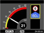 09TS In Cab Signalling Display